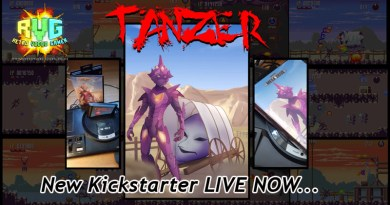 New Megadrive/Genesis Game: Tanzer on KS Now!
