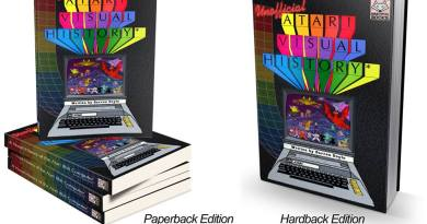 The Unofficial Atari 8-Bit Visual History book Announced.
