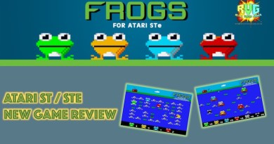 Frogs – New Atari ST/STe Game Review.