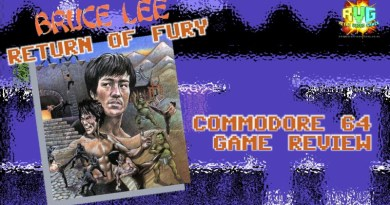 Bruce Lee: Return of Fury – C64 Game Review.