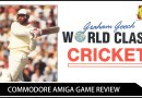 Graham Gooch World Class Cricket Commodore Amiga Review.