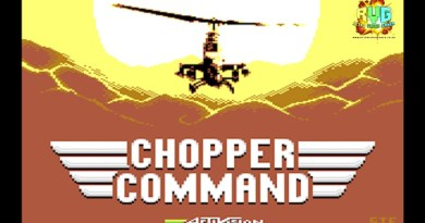 Chopper Command – C64 Game Review
