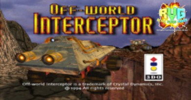Off-World Interceptor – 3DO review