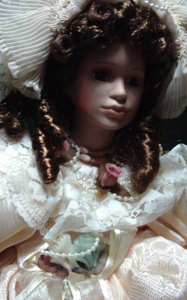 vintage duck house doll