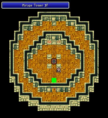 Mirage Tower 3F Final Fantasy I Walkthrough