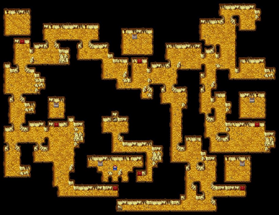 Cavern Of Earth B3 Final Fantasy I Walkthrough