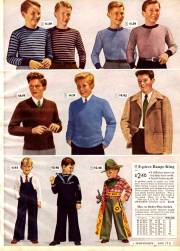 1940s fashion men & boys trends