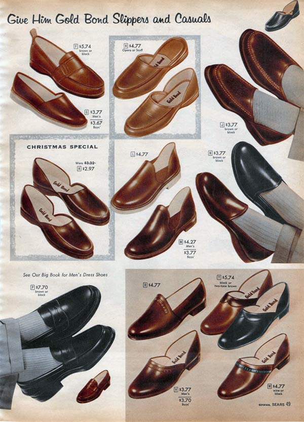 1950s Shoes Styles Trends  Pictures for Women  Men