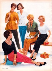fashion in 1950s clothing