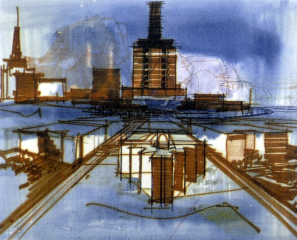 Walt Disney Epcot Center Concept Art