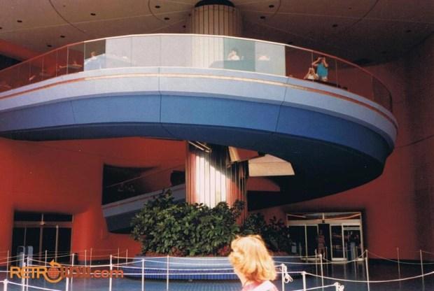 World of Motion Pavilion, Inside. Courtesy of RetroWDW
