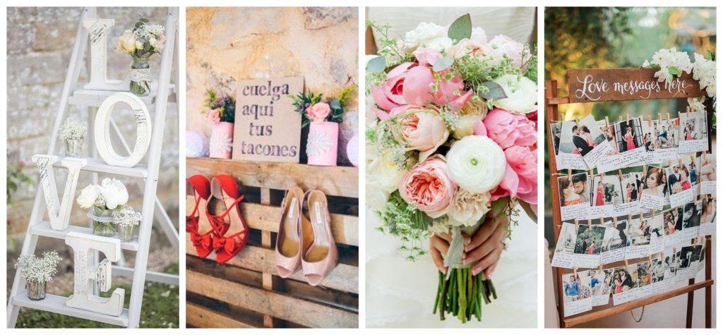Trucos y consejos para hacer la decoración de boda perfecta