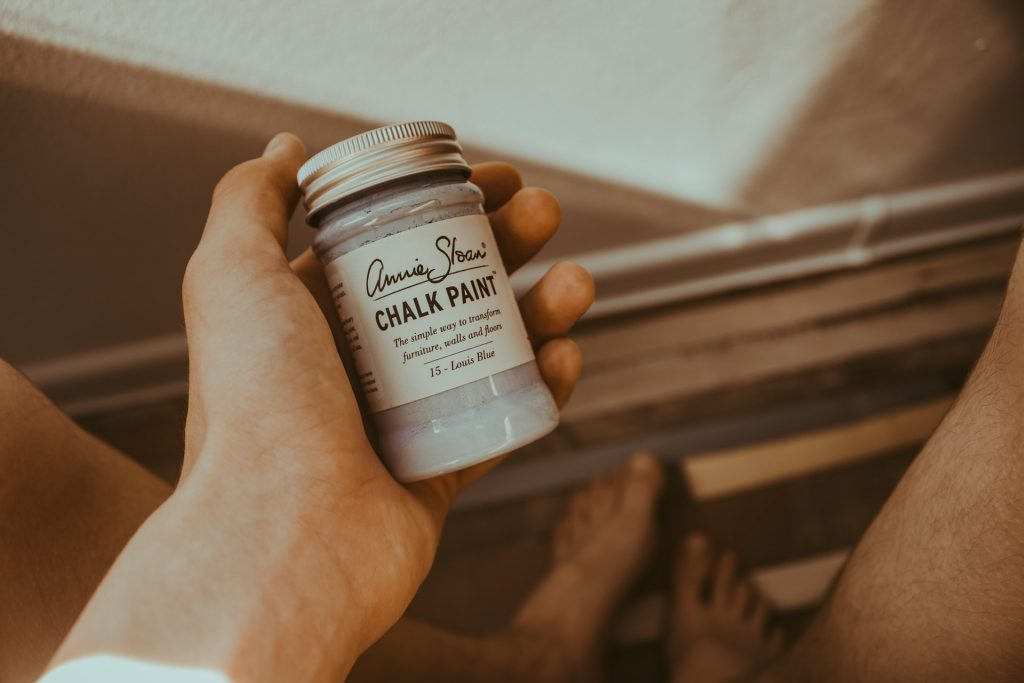 Errores al utilizar pintura a la tiza