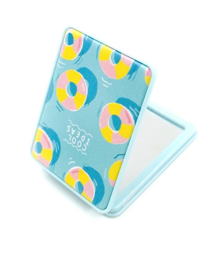 Cool IDeas Rectangle Shape Compact Mirror with Power Mirror