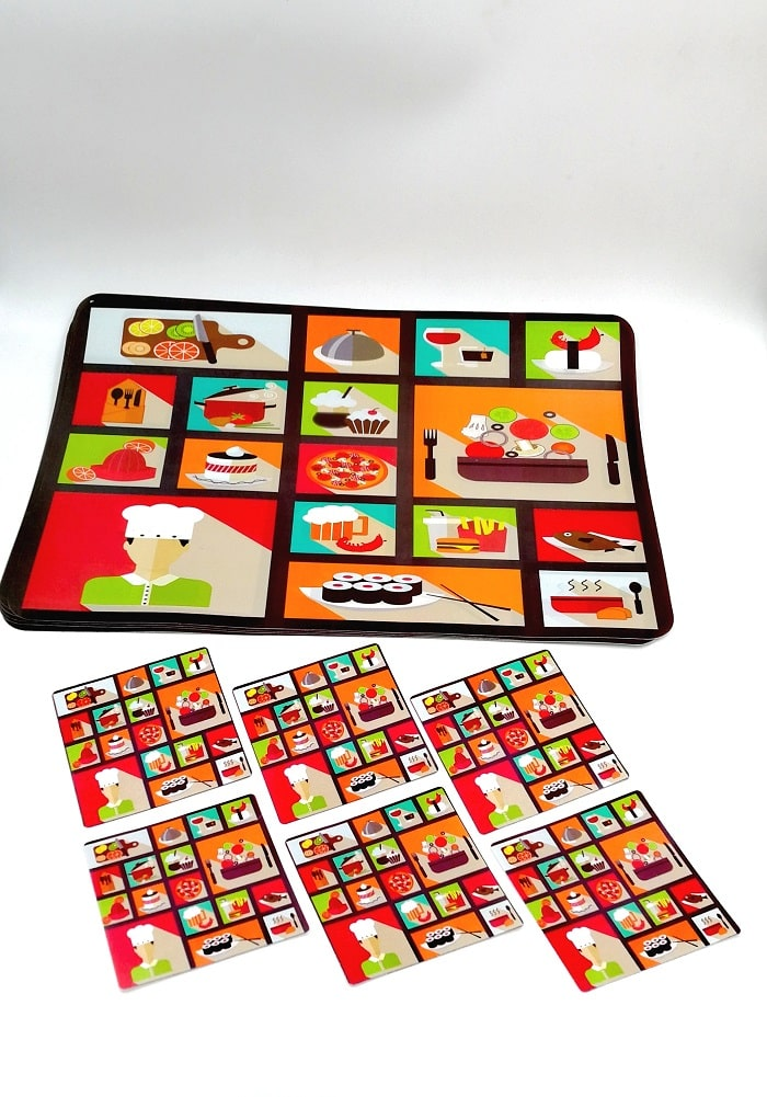 birthday return gifts for adults table mats set