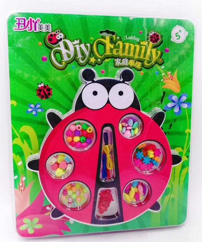 DIY art and craft beads Lady Bug theme Designer Beads Set|Big size