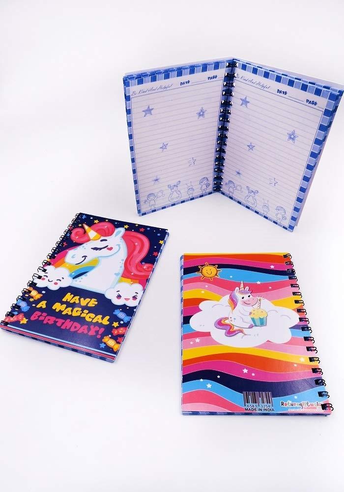 unicorn theme diary