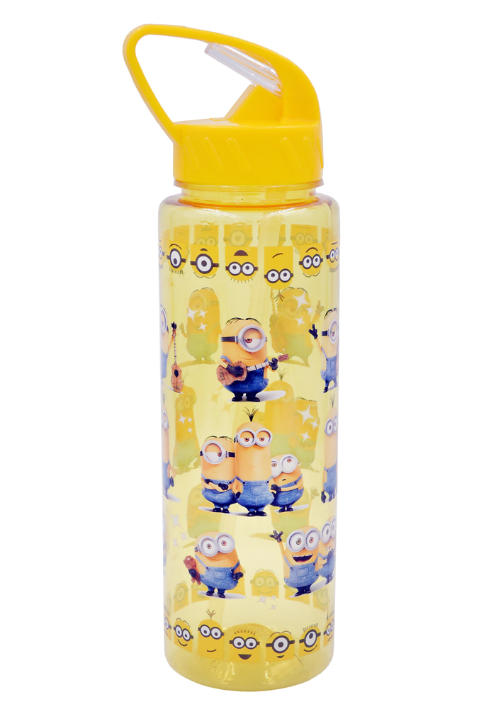 minion theme party return gifts water bottle