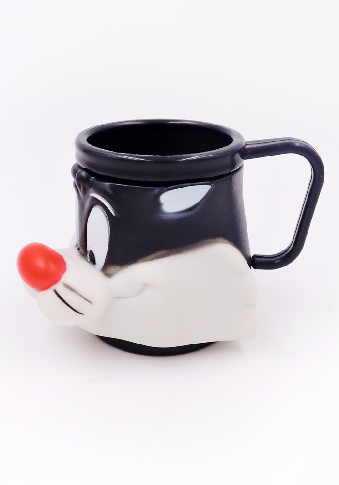 Cute mugs for kids, sylvester the cat looney tunes return gift