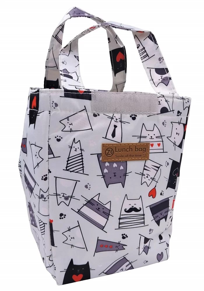 cute cats insulated lunch bags for kids online india