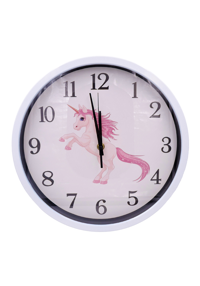 wall clock for baby room unicorn theme birthday return gifts for kids