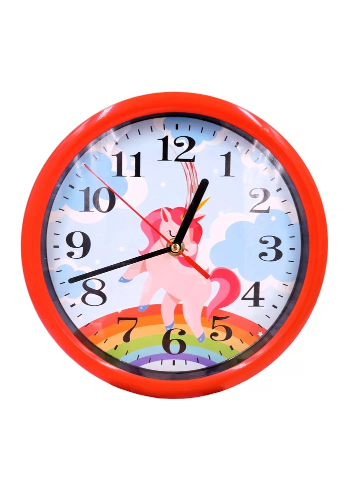 Unicorn theme wall clocks for kids return gifts online in india
