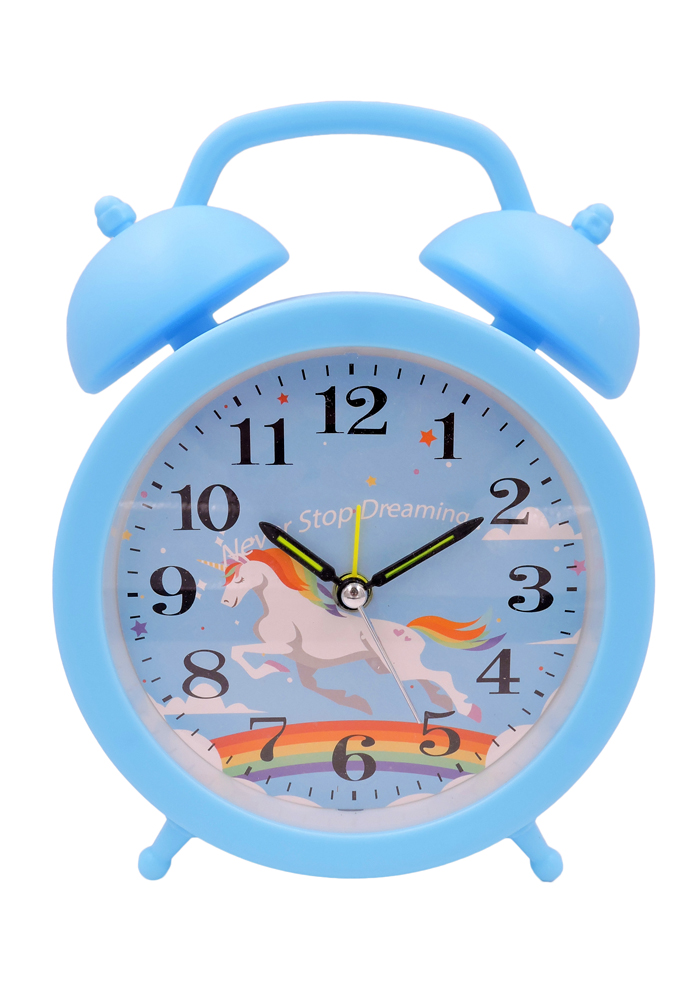 unicorn theme alarm clock for girls return gifts online delivery