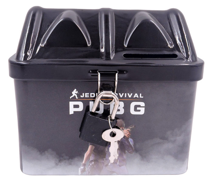 metal coin bank for pubg theme return gifts for kids