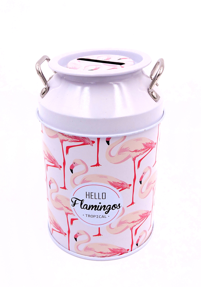 flamingo theme coin bank for kids birthday return gifts party favor