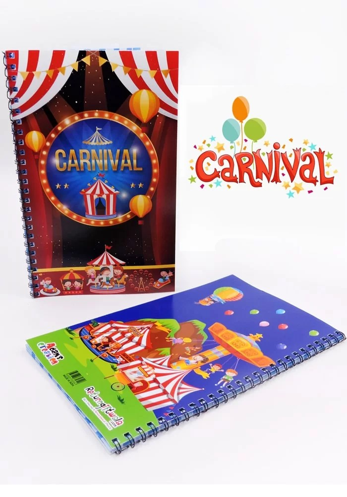 carnival thenme diary for return gifts