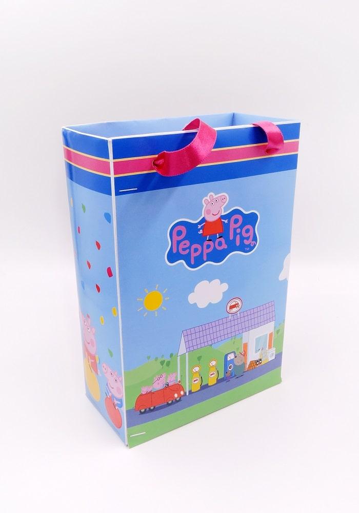 peppa pig paper bag