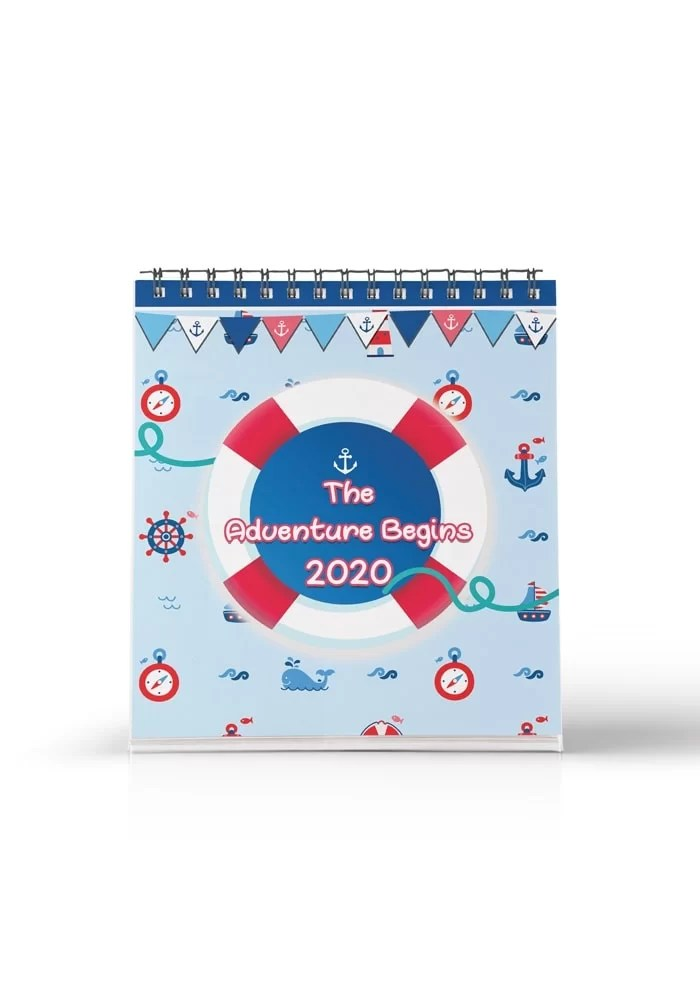 nautical or sailor theme return gifts for kids calendars
