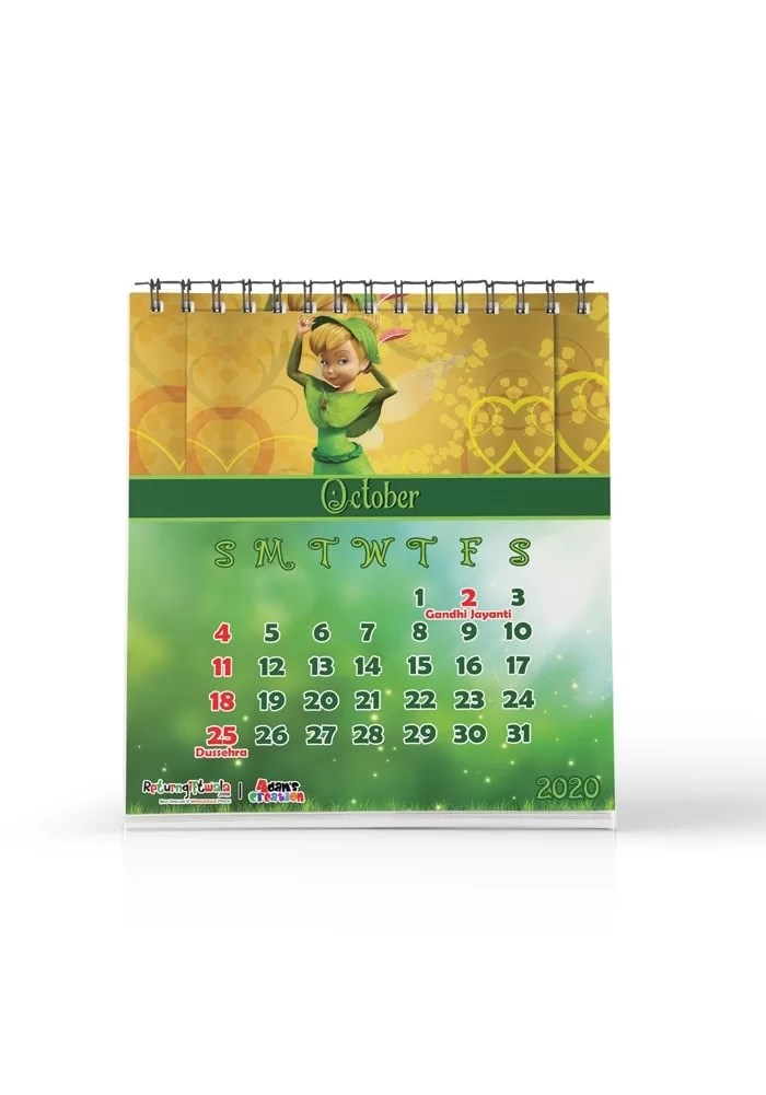 tinkerbell theme return gifts calendars customizable online india shopping