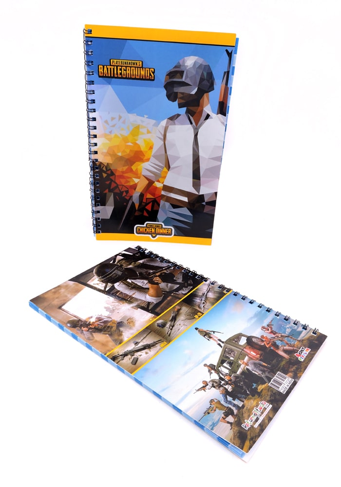 pubg theme diary for return gifts