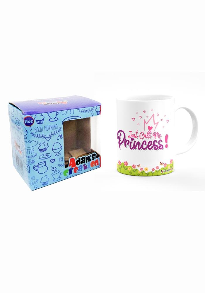 princess theme mug for kids