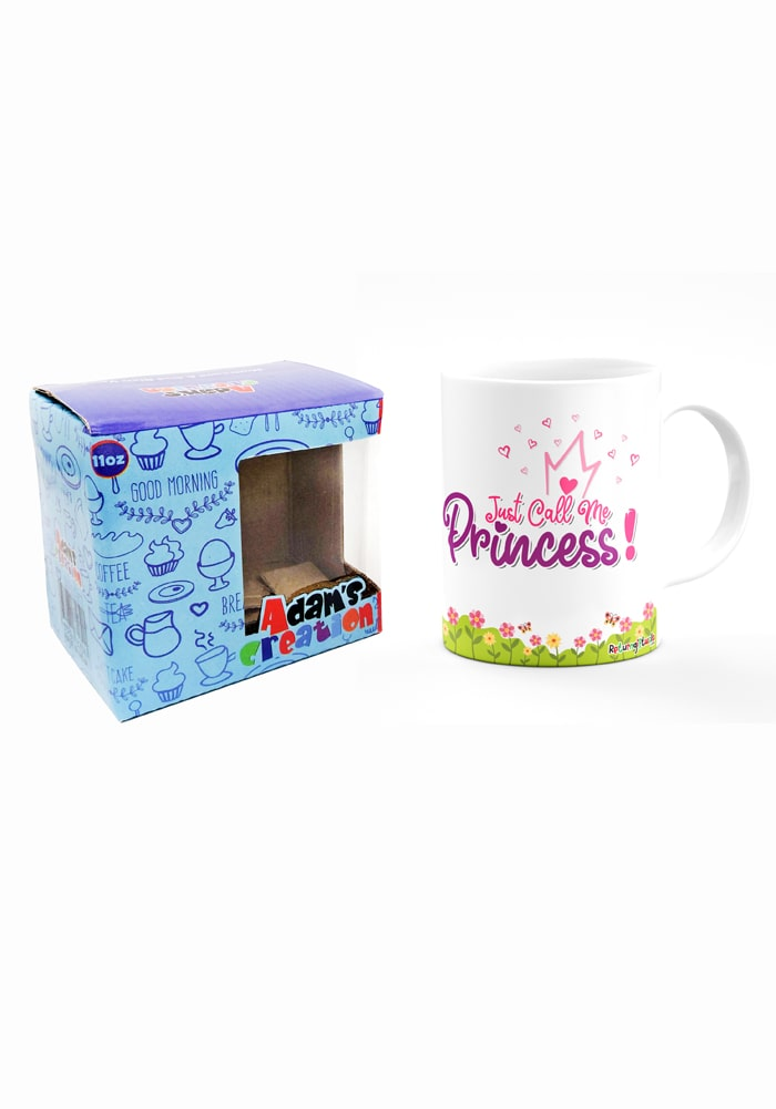 princess theme mug for kids