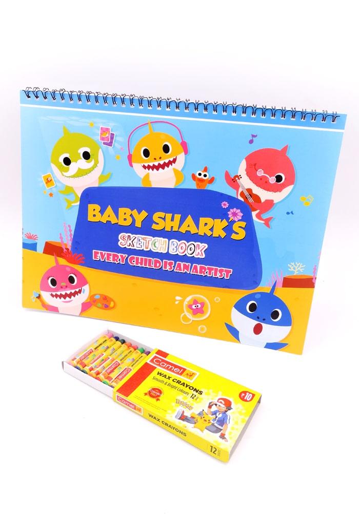 baby shark theme party favor