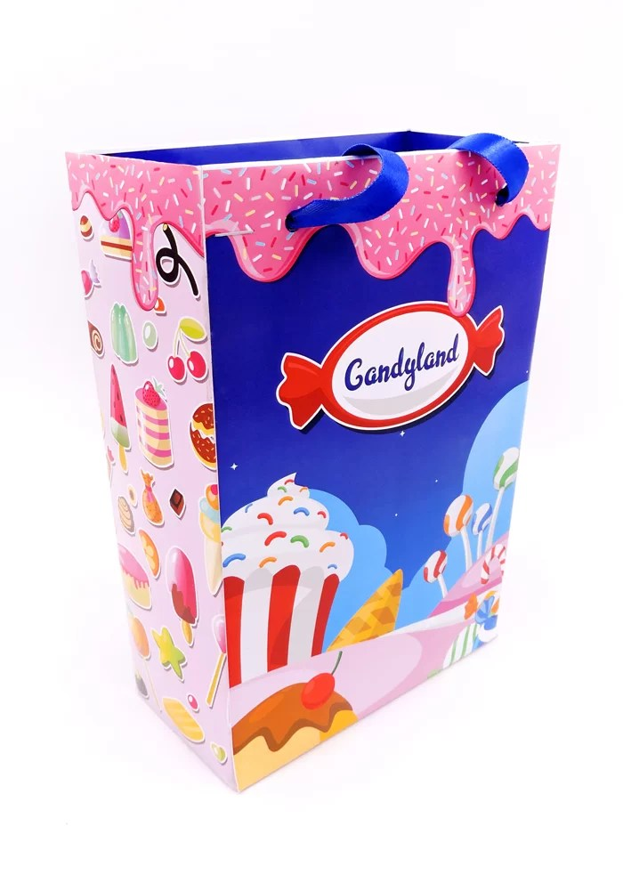candy land theme paper bags for return gifts