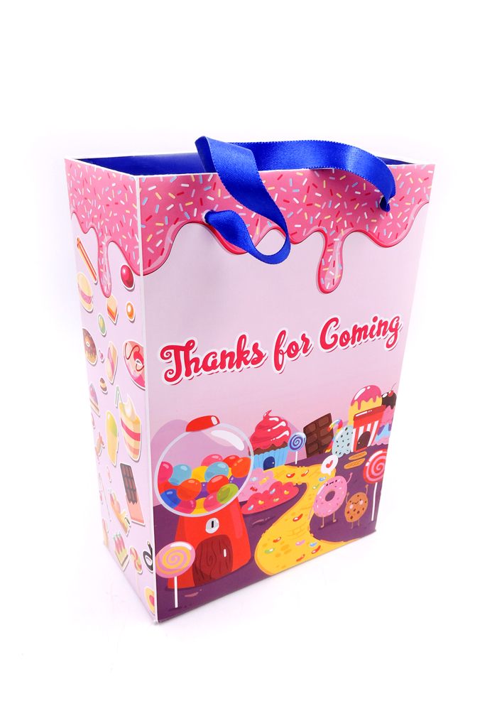 Birthday return gifts candy land theme