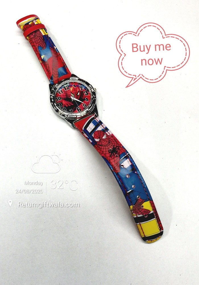 spiderman watch for toddlers