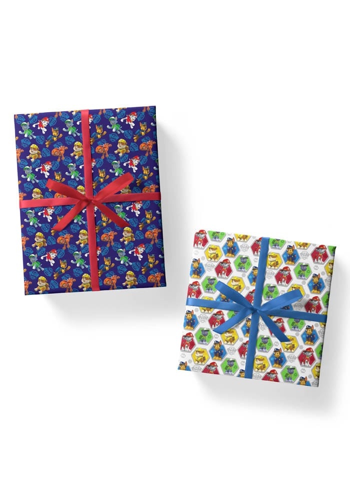 paw patrol gift wrapping sheets combos