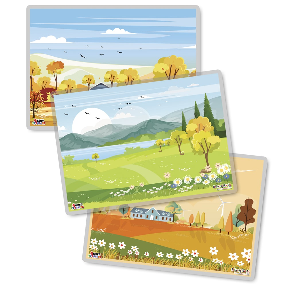 set of village placemats set-min