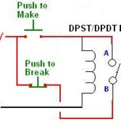 Wiring Diagram For Latching Relay Pioneer Qxe1044 Radio Circuit Reuk Co Uk Make A With Single Standard Dpst