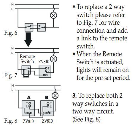 motion sensor light switch  reukcouk