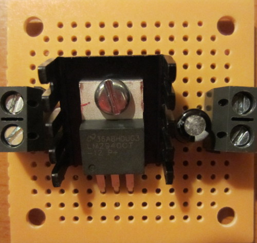 1a 15 Volt To 35 Volt Dc Regulated Power Supply Circuit Diagram
