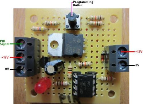 Information Society Pir Motion Detector Electronic Circuit Schematic