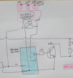 circuit diagram for arduino thermostat relay controller [ 2502 x 1185 Pixel ]
