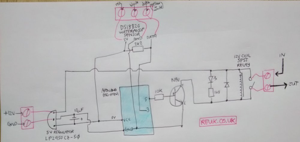 medium resolution of circuit diagram for arduino thermostat relay controller