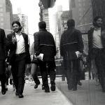 Hombres de negocios en Nueva York