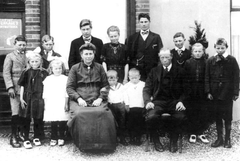 Het gezin Reurings-Koppers